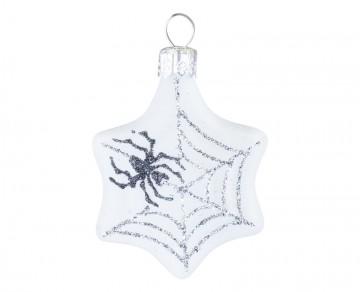 Skleněné zvířátko pavouček