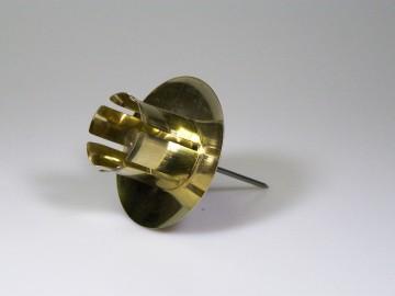 Držák svíčky zlatý  S 41