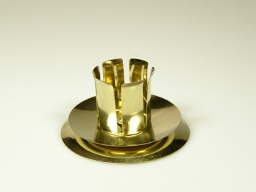 Vánoční svícen na stůl zlatá, S 53