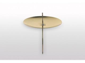 Bodec na svíčku zlatý, S 150