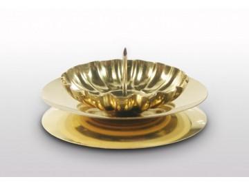 Stolní svícen zlatý S19