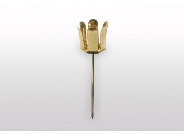 Držák na svíčku zlatý, S 25