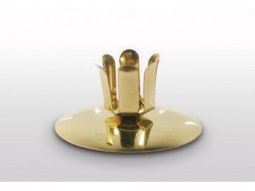 Vánoční svícen na stůl zlatý, S 29